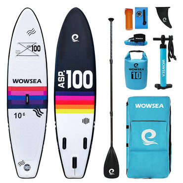 "10'6"" Rainbow R1 Paddle Board Yoga"
