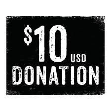 Order 1-TIME Donation $10