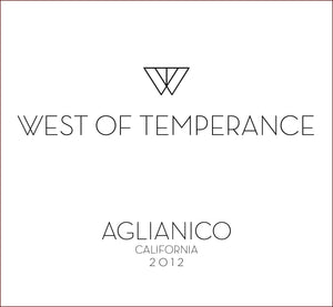 west-of-temperance-winery - 2012 Aglianico - West of Temperance Winery - Wine