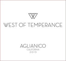west-of-temperance-winery - 2013 Aglianico - West of Temperance Winery - Wine