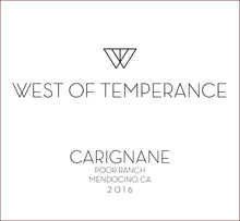 west-of-temperance-winery - 2016 Carignane - West of Temperance Winery - Wine