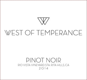 west-of-temperance-winery - 2014 Pinot Noir - West of Temperance Winery - Wine