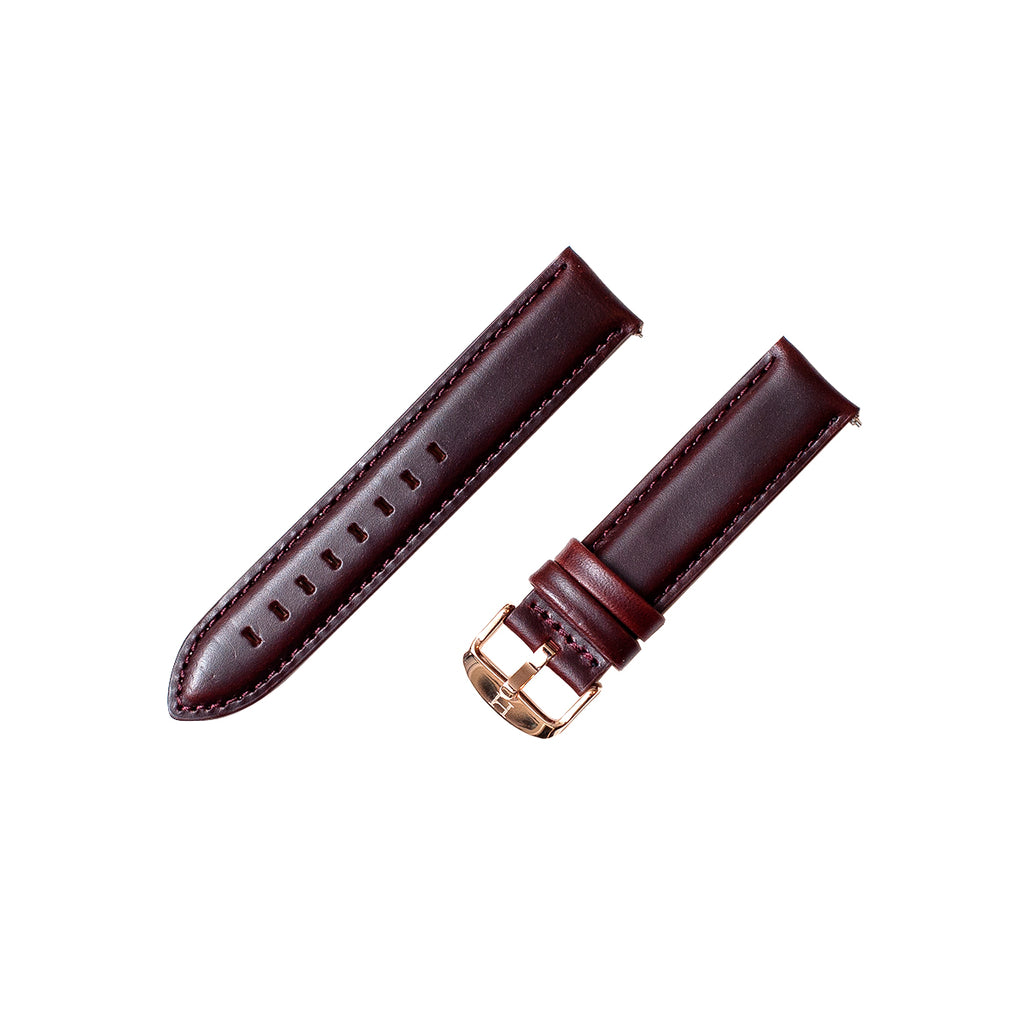 LHCo. Quick Release Sleek Leather Strap
