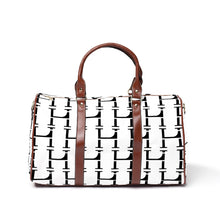 Load image into Gallery viewer, LHCo. White Bamboo Weekender Bag