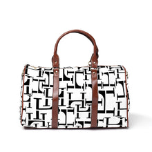 Load image into Gallery viewer, LHCo. White Blend Weekender Bag