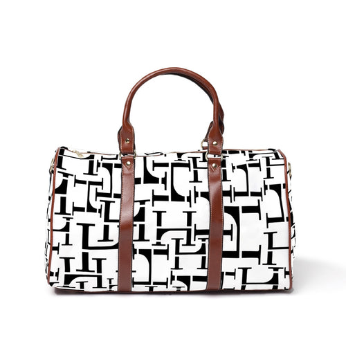 LHCo. White Blend Weekender Bag