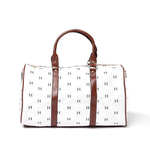 LHCo. White Tile Weekender Bag