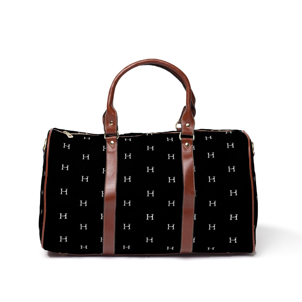 LHCo. Black Tile Weekender Bag