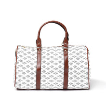 Load image into Gallery viewer, LHCo. White Diamond Weekender Bag