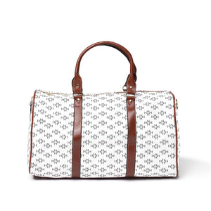 LHCo. White Diamond Weekender Bag