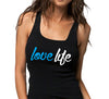 LoveLife Womens Black and Blue Tee.jpg