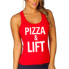 pizza and lift red women.jpg