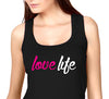 LoveLife Womens black and pink Tank.jpg