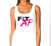 FIT AF Womens White Tank.jpg