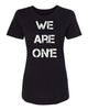 WE ARE ONE Women's T-shirt (no fist)