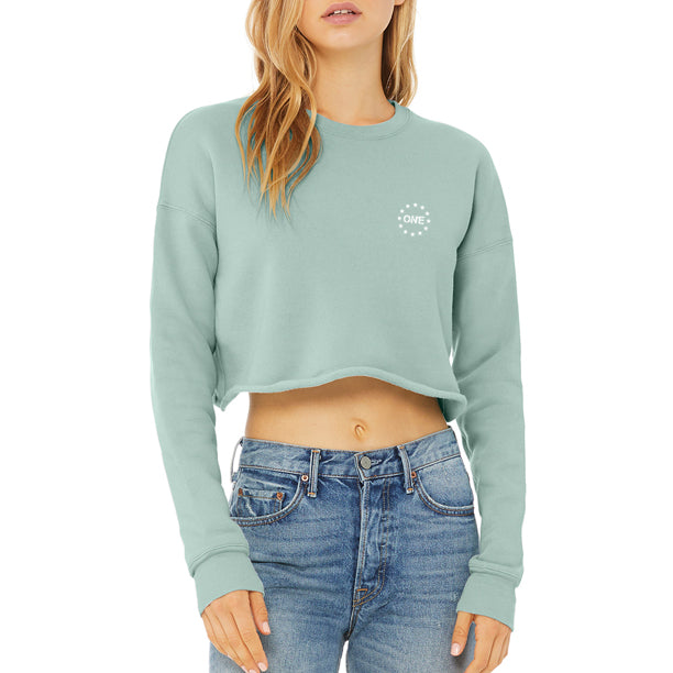 ON1E Women's Crop Sweatshirt