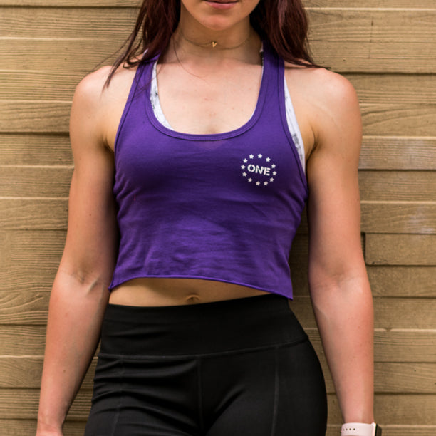 ON1E Women's Racerback Crop Top