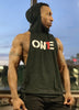 ON1E Unisex Sleeveless Hoodie