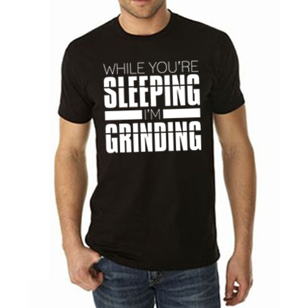 SLEEPING/GRINDING Men's Shirt