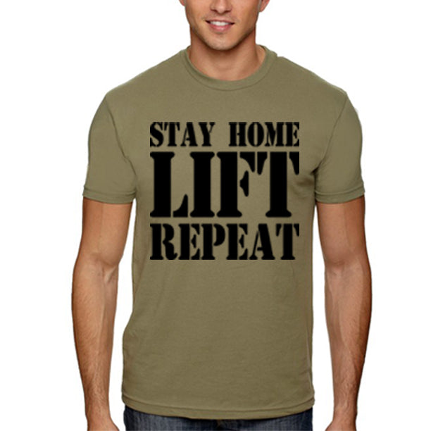 STAY HOME Men's Shirt