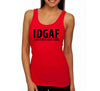 IDGAF Red Womens Tank Top.jpg
