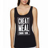cheat meal womens black tank.jpg