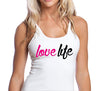 LoveLife Womens white and Blue Tank.jpg