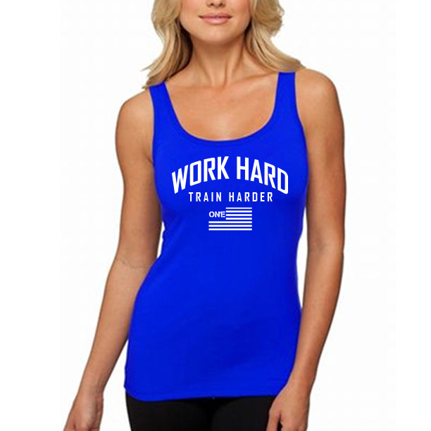 WORK HARD TANK WOMENS BLUE.jpg