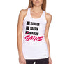 Makin Gains womens white Tank.jpg