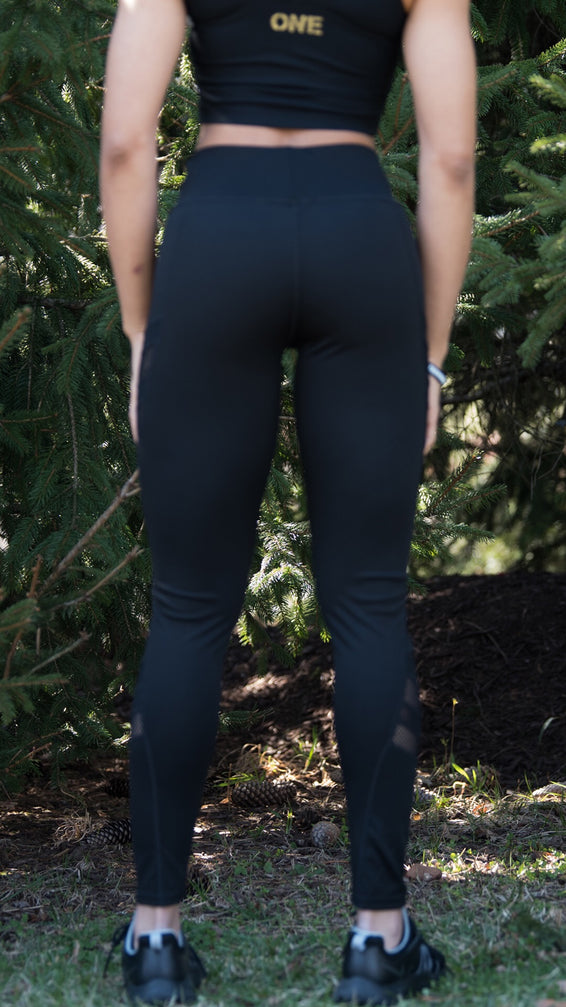 ON1E Thigh/Calf Mesh Leggings