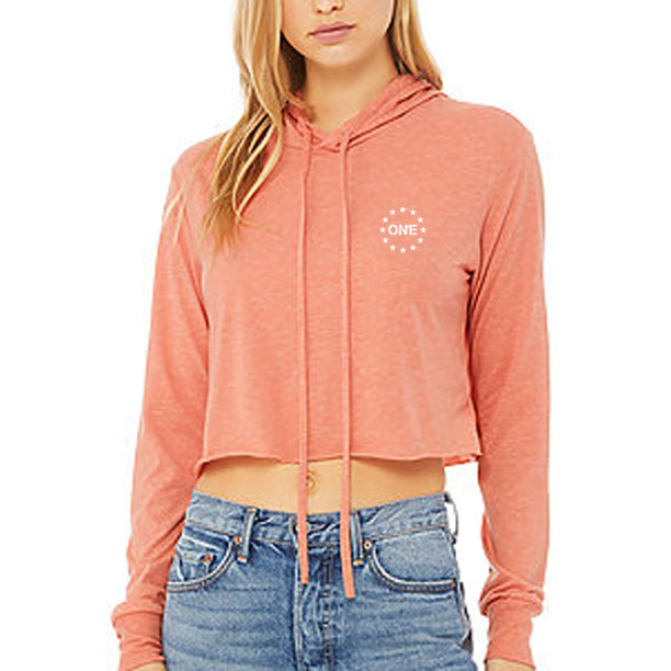 ON1E Women's Lightweight Crop Hoodie