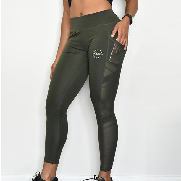ON1E Pocket Mesh Leggings