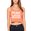 PEAK WEEK Women's Crop Top