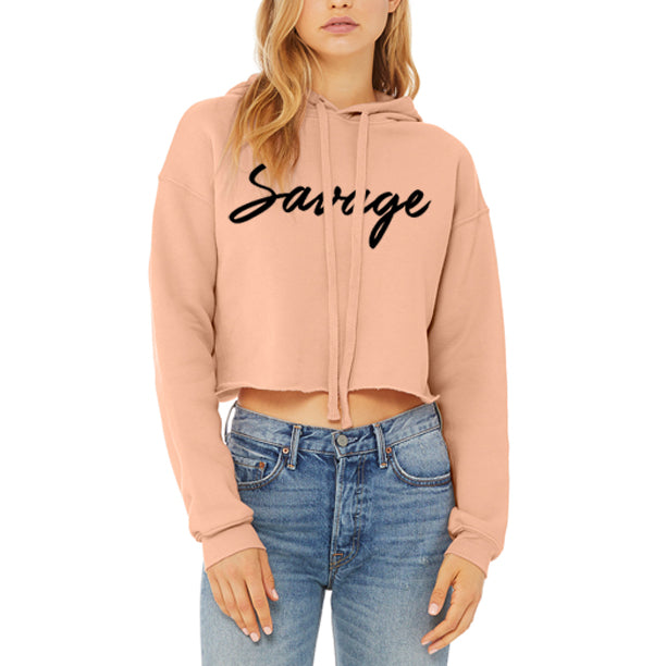 SAVAGE Women's Crop Top