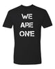 WE ARE ONE Men's T-shirt (no fist)