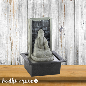 Buddha Cascading Tabletop Fountain - Bodhi Crave