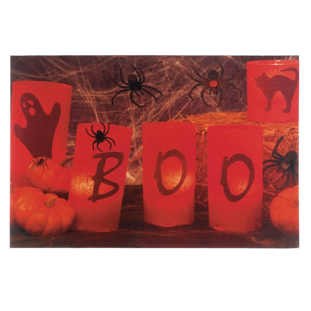 Boo Halloween LED Wall Art - Bodhi Crave