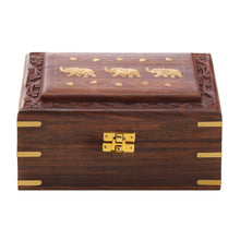 Carved Elephant Jewelry Box - Bodhi Crave