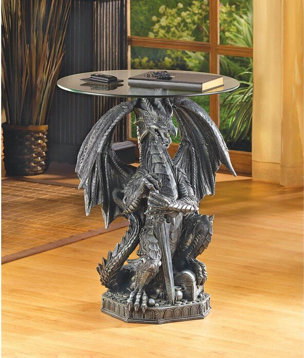 Guarding Dragon Accent Table - Bodhi Crave