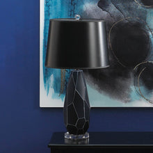 Igrit Blue Geometric Gem Table Lamp - Bodhi Crave