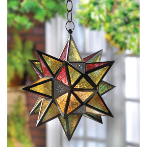 Moroccan-Style Star Lantern - Bodhi Crave
