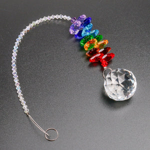 Chakra Illuminating Crystal Suncatcher - Bodhi Crave