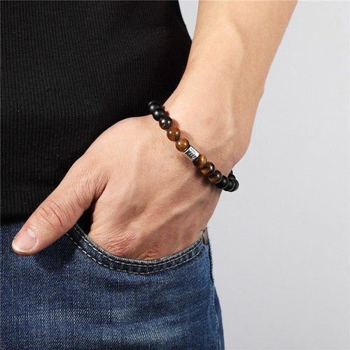12 Zodiac Signs Tigers Eye Bracelet - Bodhi Crave