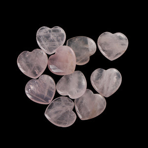 Rose Quartz Lovers Hearts - Bodhi Crave