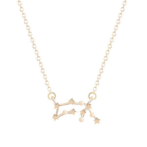 Zodiac Signs Astrology Constellation Necklace - Bodhi Crave