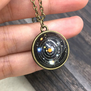 Solar System Necklace | Wear The Galaxy - Bodhi Crave
