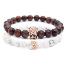 King & Queen Couples Matching Bracelets - Bodhi Crave