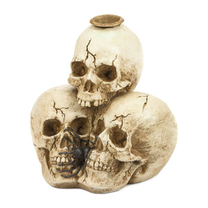 Spooky Triple Skull Candle Holder - Bodhi Crave