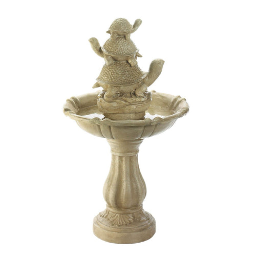 Turtle Trio Outdoor Garden Fountain - Bodhi Crave