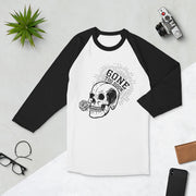 Gone Too Soon 3/4 sleeve raglan shirt